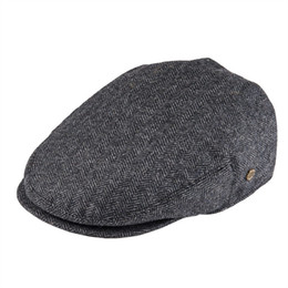 a2f8359bc863f wholesale Flat Cap Wool Herringbone Newsboy Caps Tweed Blend Men Women  Beret Classic Cabbie Driver Hat Golf Hunting Ivy Hats 200
