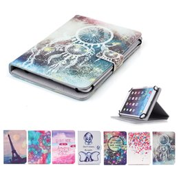 $enCountryForm.capitalKeyWord Australia - Printed Universal 7 inch Tablet Case for Asus Memo Pad 7 ME572CL ME572C ME176C Cases kickstand Flip Cover Cases PU Leather Bags
