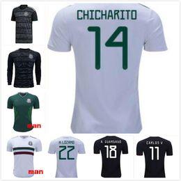 398a7abe925 1 Mexico 19-20 Away Black mens 9 R.Jimenez 14 J.Hernandez 10 J.Dos Santos 19  O.Peralta 22 H. Lozano Customized Thai Quality Soccer Jerseys