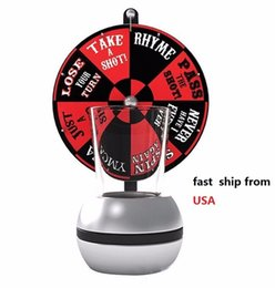 $enCountryForm.capitalKeyWord UK - Stock in USA Drinking Game with Durable Shot Glasses-Wheel of Shots- Spining Glass Drinking Bar Festival Party Board Game Set