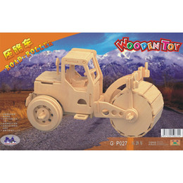 $enCountryForm.capitalKeyWord UK - Free shipping Wooden Jigsaw 3D Simulation bus Model DIY Car Stereo Jigsaw Children Unisex Hand-made Puzzle Toys Gifts(Engineering Vehicle)