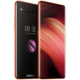 """Original Nubia Z20 4G LTE Cell Phone 8GB RAM 128GB 512GB ROM Snapdragon 855 Plus Android 6.42"""" Dual Screen 48MP Fingerprint ID Mobile Phone on Sale"""