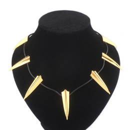 Marvel necklaces online shopping - Marvel Movie periphery Black panther necklace Super hero Silver Gold Man s Collar Necklace Fashion