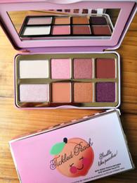 Peach Eyeshadow Australia - 2018 New Eye makeup Faced Sugar Cookie or Tickled Peach Mini Eyeshadow Make Up Holiday Chirstmas 8color eyeshadow palette free shipping