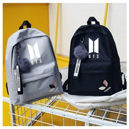 Twice Monstax Backpack Bag Exo Cute Bag Got7 Bookbag Student Back To School Special Buy Men's Bags