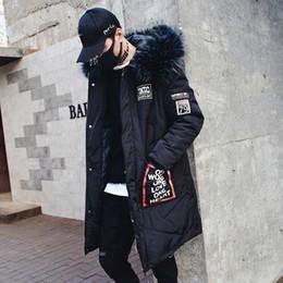 Long Hip Hop Style Winter Jacket NZ - 2018 New Arrival Winter Long Jacket Parka Korean Style Fashion Winter Coats Overcoats Hip Hop Thick Down Cotton Parkas windbreak
