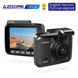 Wifi Camera Viewing Angle Australia - AZDOME GS63H Car Dash Cam 4K HD Camera 170 Degree Wide View Angle With GPS WiFi G-Sensor Loop Recording Parking Monitoring