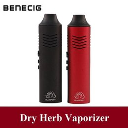 wholesale large pens NZ - Benecig Conqueror Dry Herb Vaporizer 2200mAh Battery OLED Display Large Chamber Electronic Cigarette Herbal Vaporizer Vape Pen Kit