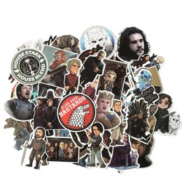Cars Tv Series NZ - Cartoon Stickers Game Of Thrones Stickers TV Series For Luggage Car Laptop Notebook Decal Fridge Skateboard Sticker 61 PCS