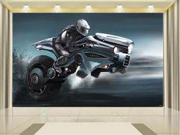 $enCountryForm.capitalKeyWord Australia - custom size 3d photo wallpaper living room kids room mural motorcycle racing driver 3d picture sofa TV backdrop wallpaper non-woven sticker