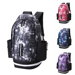 $enCountryForm.capitalKeyWord NZ - New Kobe Backpack Fashion Brand Mens Womens Designer Bags Universe Starry Sky Backpack Black Lightning Students Bags