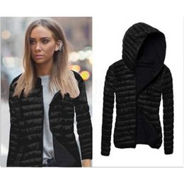 elegant down parka Australia - New Parkas Basic Winter Jackets Female Women Large Size Hooded Coats Down Jacket Womens Windbreaker Slim Parka Elegant Outwear