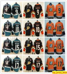 c1d99aec0 New Style Mighty Anaheim Ducks Hockey 8 Teemu Selanne 9 Paul Kariya 10  Corey Perry 15 Ryan Getzlaf 17 Ryan Kesler Jersey