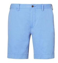 $enCountryForm.capitalKeyWord Canada - Global America Design Men's Polo Casual Shorts Summer Boys Beach Short Pants Spring Golf Trunks Sport Swimwear Sky Blue Green