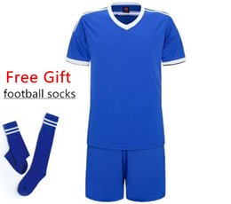 $enCountryForm.capitalKeyWord NZ - New Children Football Jerseys Boys Soccer Clothes Sets Short Sleeve Kids Football Uniforms Kids Soccer Tracksuit Jersey Q190429