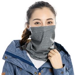 $enCountryForm.capitalKeyWord Australia - Sunscreen Breathable Half Face Mask Windproof Elastic Neck Hood Cover Cycling Riding Headscarf Outdoor Sports Bandana MensMask