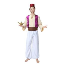 $enCountryForm.capitalKeyWord Australia - High Quality Men Aladdin Costume Arabian Prince Fancy Dress Story Magician Uniform Halloween Party Clothing Male Anime Cosplay