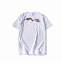mens patterned shorts Canada - 20SS Mens Designer T Shirt Summer Tops Casual T Shirts Men Women Short Sleeve Shirt Brand Clothing Letter Pattern Printed Tees Crew Neck