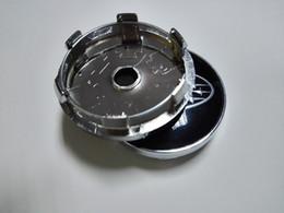 $enCountryForm.capitalKeyWord NZ - 56.5mm 3D Car Badge Wheel Center Hub Cap Sticker Durable Logo Emblem With BLACK SILVER Base Cover Wheel Decoration Fit For Mazda bmw vw