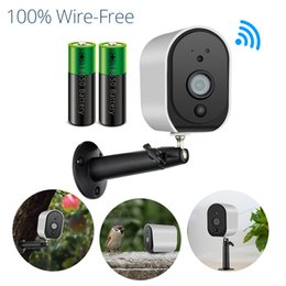 Ip Home Alarm Australia - FUERS Waterproof 960P HD Battery Power WiFi IP Camera Home Security H.264 Surveillance Alarm Security Wireless Infrared Monitor
