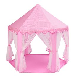 Wholesale Portable Princess Castle Play Tent Activity Fairy House Fun Playhouse Beach Tent Baby playing Toy Gift For Children