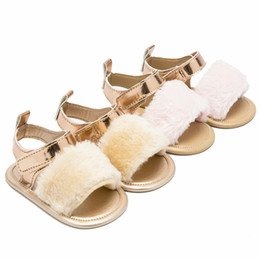 $enCountryForm.capitalKeyWord Australia - Children Sandals For Girls Toddler Baby Newborn Infant Baby Boys Girls Crib Prewalker Soft Sole Anti-slip Shoes Sandals infantil