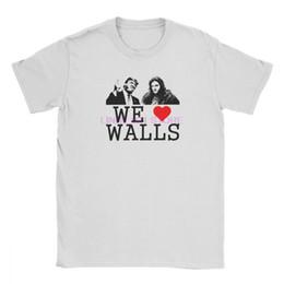 $enCountryForm.capitalKeyWord Australia - Donald Trump T Shirts Men We Love Walls T-Shirt Jon Snow Bill Game Of Thrones Cotton Tees Short Sleeve Bar Alcohol Ale Drink