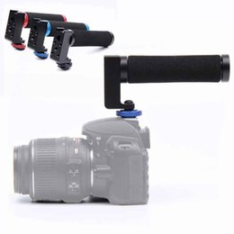 Steadicam Camera Dslr Australia - Universal Video Stabilizer Handle Bracket Steadicam Grip For Pentax Dslr Cameras Photography Studio