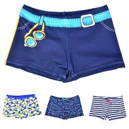 Discount swimwear infantil - 4styles Kids Infantil Children fish Printed Swimming Trunks for Boys swimwear Beach Trunks baby Children Swimsuit Bathin