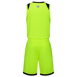 red basketball jerseys UK - 2019 New Blank Basketball jerseys printed logo Mens size S-XXL cheap price fast shipping good quality Apple Green AG004