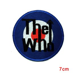 Band Clothes For Australia - The Who Band DIY Applique Embroidered Sew Iron on Patch Scooter MOD Quadrophenia patch for Jacket Jeans Clothing Badge