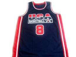 08d43d238 CUSTOM Scottie Pippen  8 1992 Dream Team New Basketball Jersey Navy Blue Stitched  Custom any number name MEN WOMEN YOUTH BASKETBALL JERSEYS