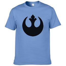 $enCountryForm.capitalKeyWord Australia - Star T Shirt Men Rebel Alliance Logo T-shirt Summer Cotton Short Sleeve Star Tees Top Male Clothing #268