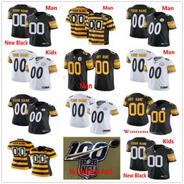 Discount pittsburgh custom - Custom 2019 Pittsburgh 50 Ryan Shazier 38 Jaylen Samuels 19 Smith-Schuster 30 Conner 11 Donte Moncrief Men Women Kids Yo