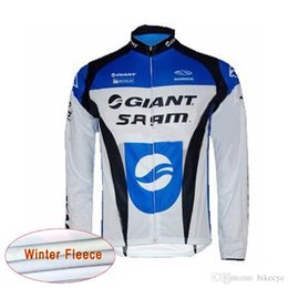 $enCountryForm.capitalKeyWord Australia - NEW GIANT team Cycling Winter Thermal Fleece jersey Cycling Wear man Clothing jersey Breathable Quick Dry F603123