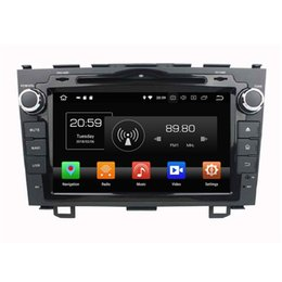 "honda crv gps dvd Australia - IPS Android 8.0 Octa Core 2 din 8"" Car DVD GPS for Honda CR-V CRV 2006 2007 2008 2009 2010 2011 Radio Bluetooth WIFI 4GB RAM 32GB ROM"