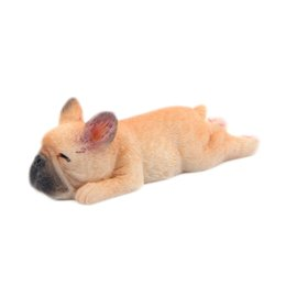 $enCountryForm.capitalKeyWord Australia - 1PCS Cute 3D Sleeping Bulldog Cartoon Animal Fridge Magnet Dog Refrigerator Sticker Decals