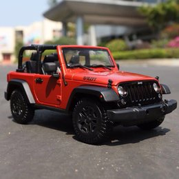 White Toy Jeep Australia - 1:18 Jeep JEEP Herdsman Car Model Collection Off-road Simulated Alloy Car ModelCool Gift Toys for Children