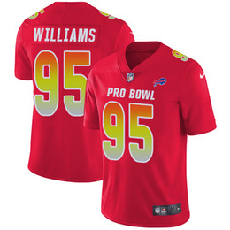 95 Kyle Williams Limited Jersey Buffalo Men s Bills Red AFC 2019 Pro Bowl  Football Jersey 5614139f3