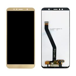 $enCountryForm.capitalKeyWord Australia - 30PCS Huawei Y6 2018 LCD Display Touch Screen Digitizer For Huawei Y6 Prime 2018 LCD ATU L11 L21 L22 LX1 LX3 L31 L42 Screen