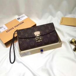Belt clutch online shopping - 2019 M58102 New Womens Brown Wallet Fashion Clutch Wallets Purse Mini Clutches Exotics Evening Chain Belt Bags