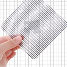 window double NZ - 3Pcs Set Fly Mosquito Door Window Net Mesh Screen Curtain Netting Patch Repairing Broken Holes Sticker Mesh Sticky Wires Patches
