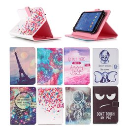 Samsung Evo Australia - Cartoon Printed Universal 10 inch Tablet Case for Huawei MediaPad 10 Link+ Cases kickstand PU Leather Flip Cover Case