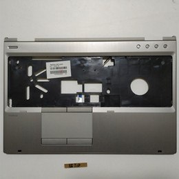 $enCountryForm.capitalKeyWord Australia - Free Shipping!!! 1PC Original New Laptop Shell Cover C Palmrest For HP 8560P 8570P 641207-001 15.6inch