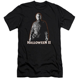 $enCountryForm.capitalKeyWord UK - Halloween Slim Fit T-Shirt Michael Myers Glow Black Tee fan pants t shirt