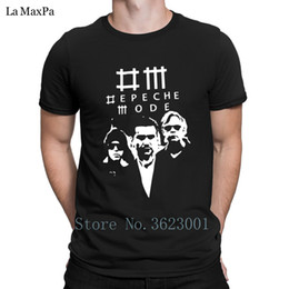 depeche mode t shirts UK - New Leisure T Shirt For Men Summer Style Mode Depeche T-Shirt Man Authentic Slogan Tshirt Euro Size Tee Shirt High Quality