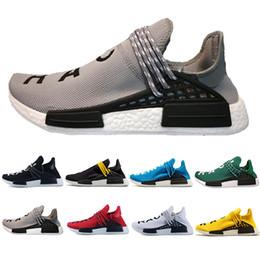 bd5deb7d1660 Mens Pharrell Human Race Shoes Australia - Top Sale Human Race Hu trail pharrell  williams Running