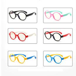 a8ec304190 Niños Anti-azul Gafas ligeras Niño Anti-UV Protección contra la radiación  Gafas de computadora Marco flexible Anteojos Chica Niño Niños Gafas LJJW157