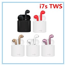$enCountryForm.capitalKeyWord Australia - Bluetooth Headphones I7 I7S TWS Twins Earbuds Mini Wireless Earphones Headset with Mic Stereo V5.0 for phone Android with retail Package