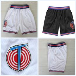 9bcc501e66 Tune Squad Space Jam Película Basketabll Pantalones cortos Doble costura  Carta Logos Alta calidad Envío rápido